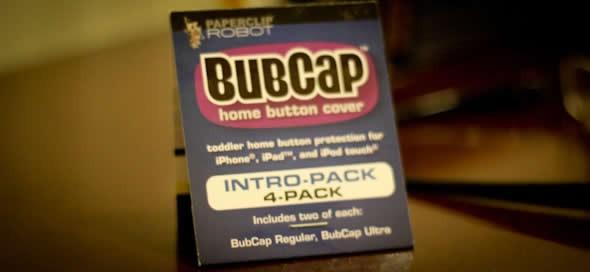 bubcaps ipad toddler button