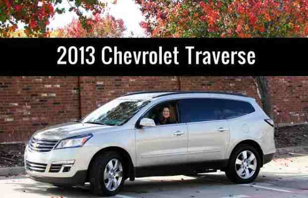 2013 chevrolet traverse review alternative to mini van. Cars Review. Best American Auto & Cars Review