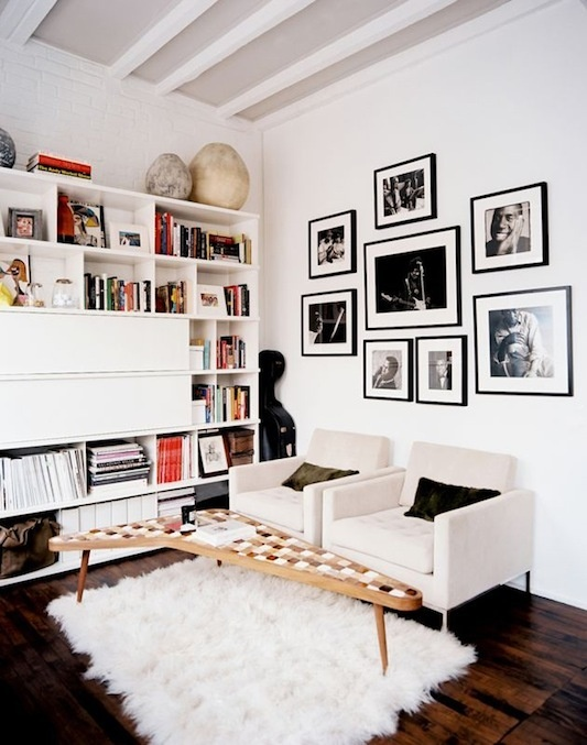 black-and-white-photo-wall