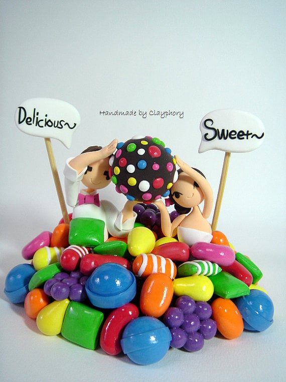 Candy Crush Cake Topper