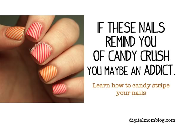 Candy Crush Nail Design