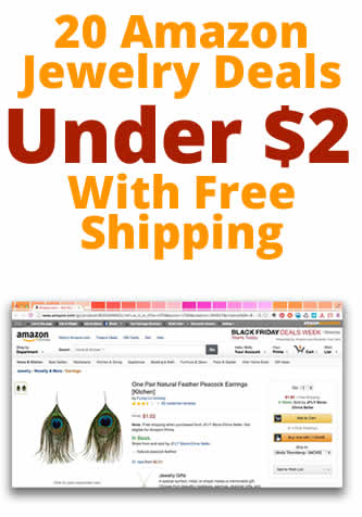20 Amazon Jewelry Deals Under $2 (with FREE Shipping!)