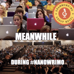 #GrammoWriMo: The Largest Group of Authors to Collaborate on a Novel