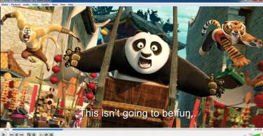 kungfu panda on vlc player