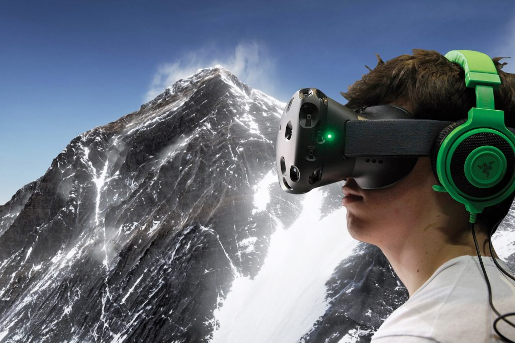 Everest with Virtual Realty