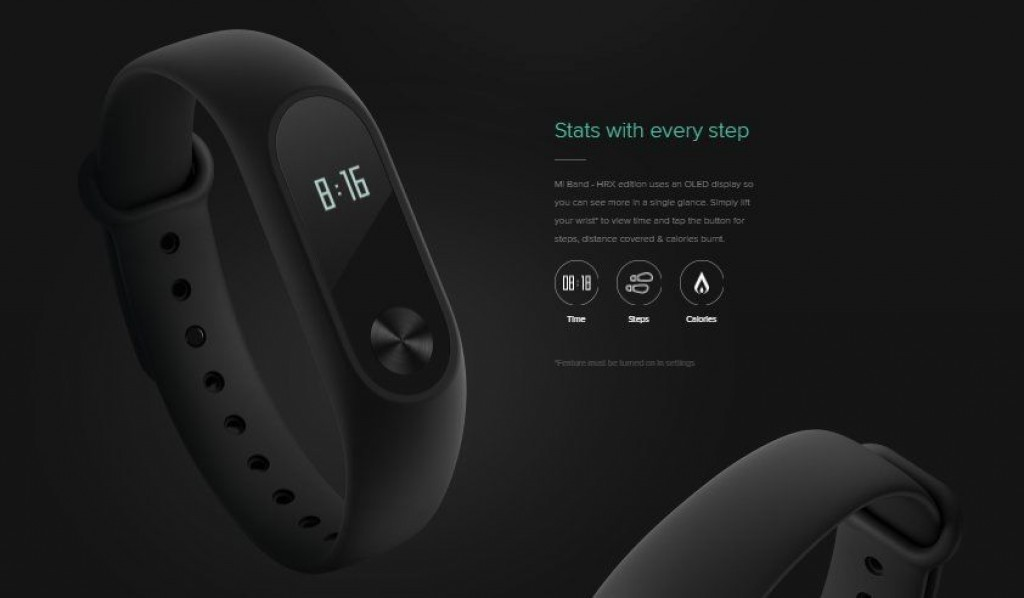 Xiaomi Mi Band HRX Edition specifications