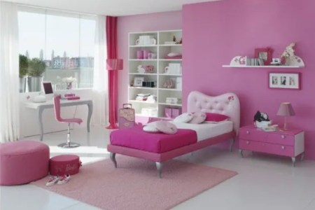 15 cool ideas for pink girls bedrooms digsdigs