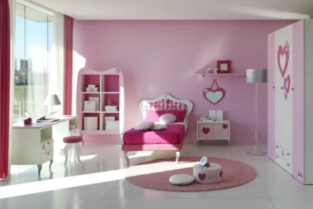 15 cool ideas for pink girls bedrooms 7