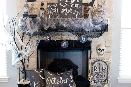 50 great halloween mantel decorating ideas 6 775x1163