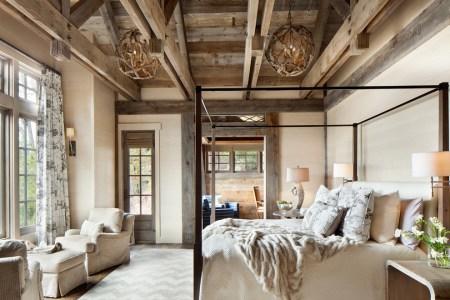 45 cozy rustic bedroom design ideas 2