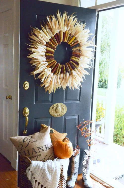 Medium Of Front Door Decor