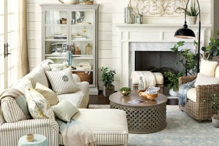 27 comfy farmhouse living room designs to steal 17 775x1163