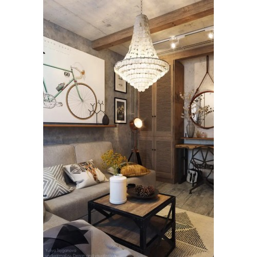 Medium Crop Of Industrial Living Room