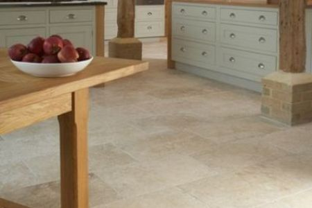 06 large beige floor tiles