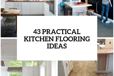 30 practical and cool looking ktichen flooring ideas cover