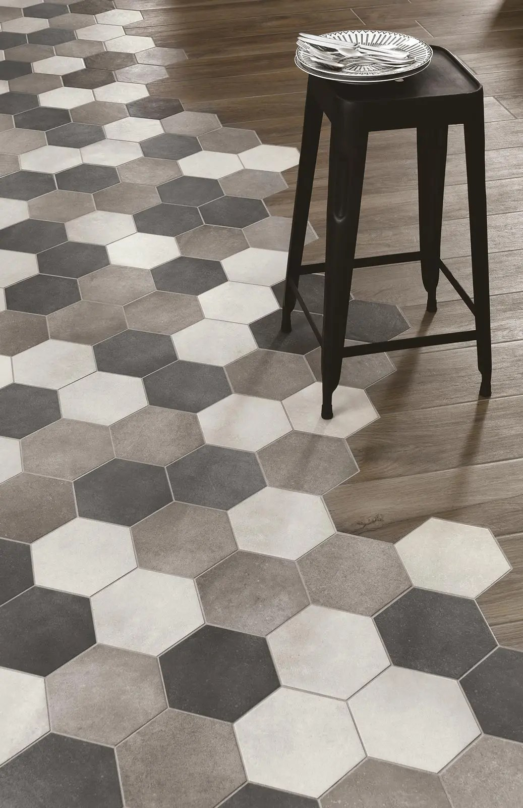 kitchen flooring ideas kitchen flooring ideas kitchen flooring Mixing color shades and mixing materials is an ultimate combo