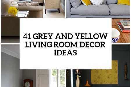 29 stylish grey and yellow living room decor ideas cover