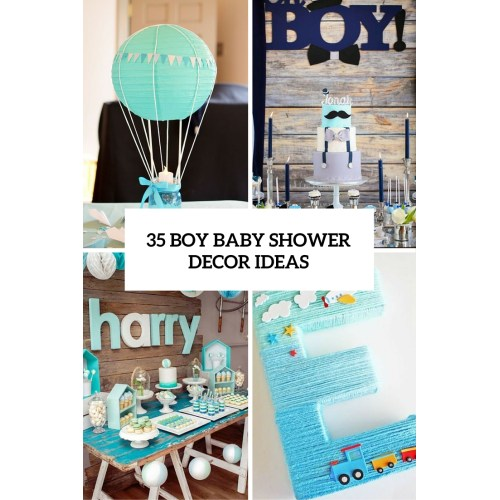 Medium Crop Of Baby Shower Themes For Boys