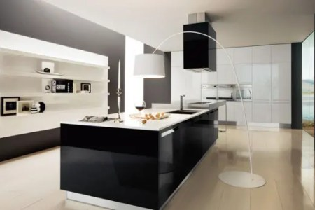 black and white kitchen design ideas 1