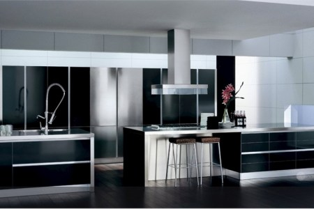 black and white kitchen design ideas 14