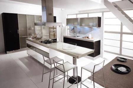 black and white kitchen design ideas 23