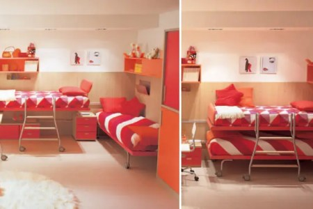 cool and ergonomic bedroom ideas for two children by dearkids 27