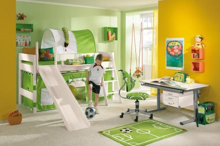 funny play beds for cool kids room design by paidi 1