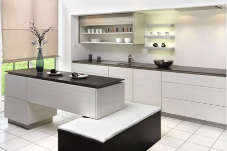 new modern black and white kitchen designs from kitcheconcept 7