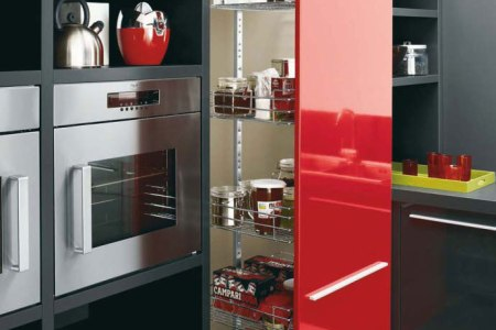 white black and red kitchen design gio by cesar 2