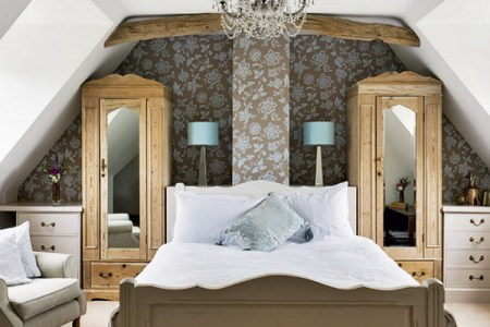 50 attic bedroom design inspirations | digsdigs