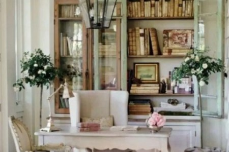 charming vint home offices 6