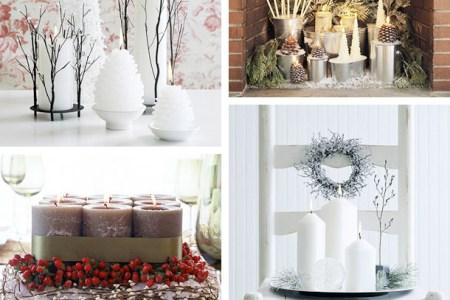 christmas candles decor