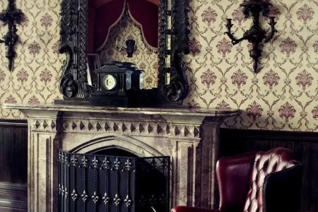 cool gothic living room designs 1