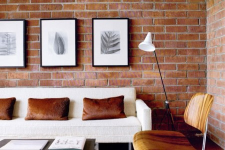 cool living rooms with brick walls 1