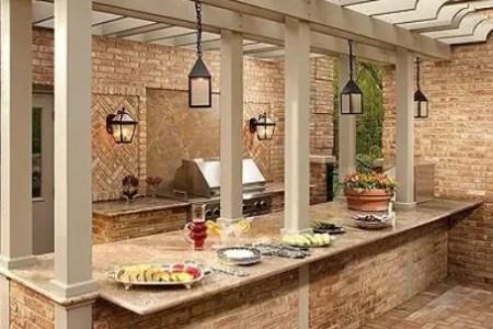 cool outdoor kitchen designs 21