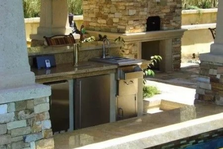cool outdoor kitchen designs 58