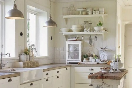 cozy and chic farmhouse kitchen decor ideas 6
