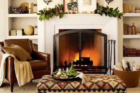 cozy and inviting fall living room decor ideas 21