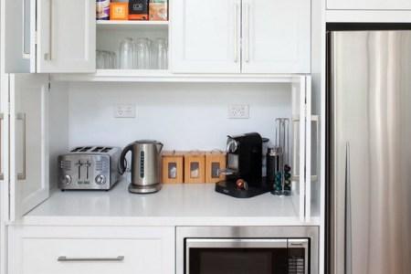 creative appliances storage ideas for small kitchens 11