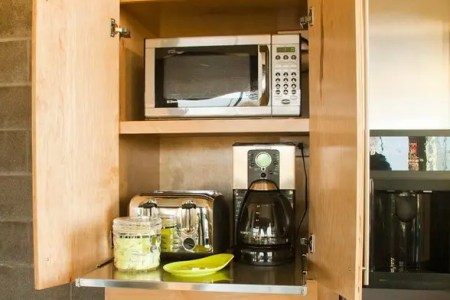 creative appliances storage ideas for small kitchens 19