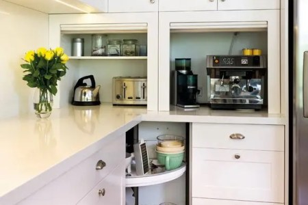 creative appliances storage ideas for small kitchens 36