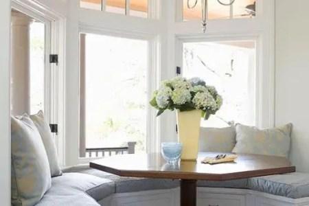 cute and cozy breakfast nook decor ideas 5