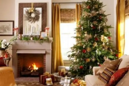 dreamy christmas living room decor ideas 44 554x464