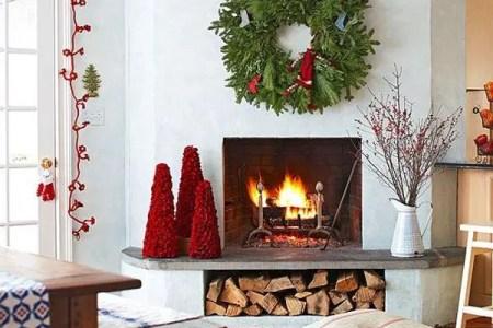 dreamy christmas living room decor ideas 8