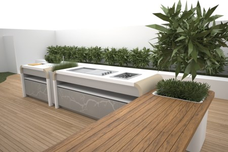 electrolux modern outdoor kitchen 1