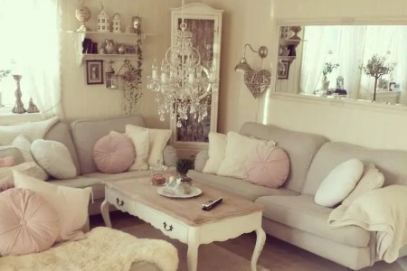 enchanted shabby chic living room designs 1