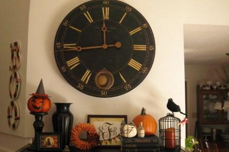 halloween mantel decorating ideas 10