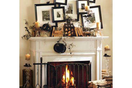 halloween mantel decorating ideas 6