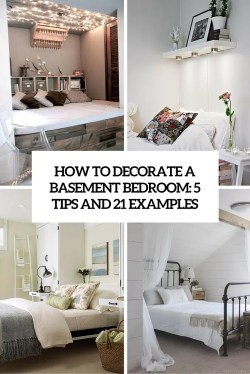 Fancy How To Decorate A Basement Bedroom Tips Examples Digsdigs Basement Guest Bedroom Ideas Basement Bedroom Ideas Cheap Examples Cover How To Decorate A Basement Ideas