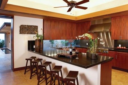 hualalai luxury home design kitchen